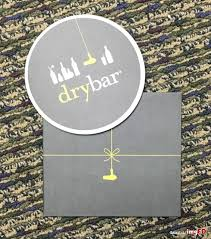 drybar gift card one free out 40 hair style gift certificate
