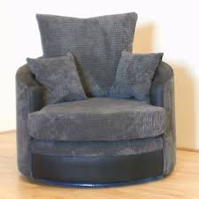 cuddle couch swivel chair