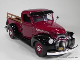 Revell 1/25 scale 1941 Chevy Pick Up in Gloss Wine Red   Model ...