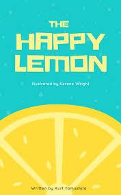 yellow lemon children book cover