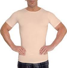 Lish Men S Slimming Light Compression Crew Neck Shirt Lish Mens Slimming Light Compression Crew Neck Shirt