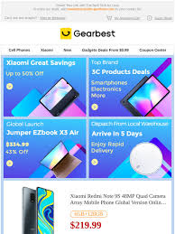 gearbest ES: Markdown Tuesday Mania | Be Fast: Grab 50% Off ...