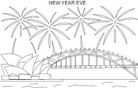 Coloring Pages New Year New Years Coloring Pages New Coloring Pages