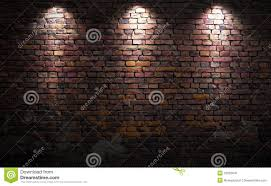 Image Print Bedroom Megapixl Brick Wall With Lights Stock Photo 31525641 Megapixl