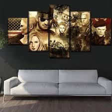 Canvas HD Prints <b>Modular Pictures</b> Home Decorative <b>5 Pieces</b> ...