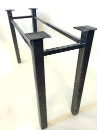 best steel table legs ideas on wood square meta metal uk