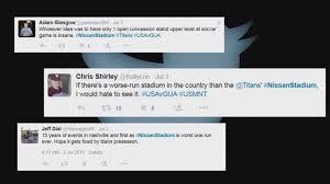Aramark Nashville Titans Aramark Share Blame For Soccer Game Issues