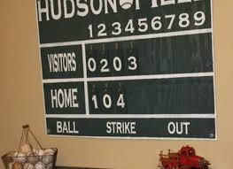 baseball wall decor vintage baseball scoreboard wall renovations wooden baseball wall decor