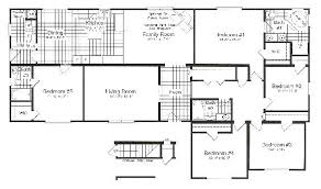 Floor Plans For 5 Bedroom Homes Painting Impressive Decorating