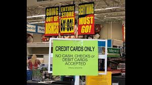 as of june 25 credit cards are only the form of payment accepted at the jensen beach toys r us