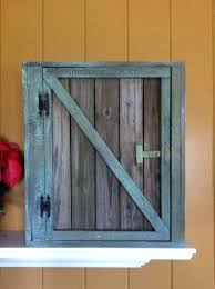 reclaimed wood cabinet doors. Reclaimed Wood Cabinet Doors Old Barn Door Wall With Wainscoting Back And 2 Shelves From