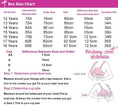 Girls Bra Size Chart Wholesale Pink Or Gray 2015 Novel Vest Design Training Bras For 12 To 18 Year Old Pubescent Young Girls Mz222 Bra Girl 5t Underwear From