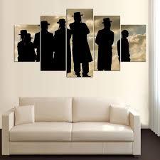 5 panel high definition jewish print canvas art wall framed paintings ahuva  on modern jewish wall art with 5 panel canvas jewish inspiration wall art ahuva