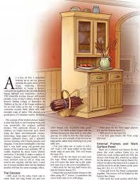 Image Drawing Kitchen Dresser Plans Woodarchivist Kitchen Dresser Plans Woodarchivist