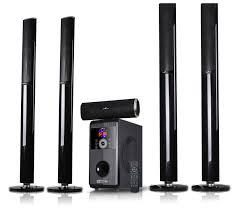 sound system speakers. befree bfs-910 5.1 surround sound bluetooth speaker system - page 1 \u2014 qvc.com speakers