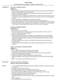 Building Superintendent Resume Samples Velvet Jobs Websites Free For