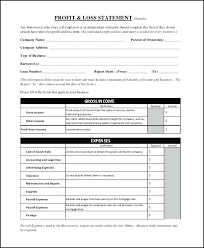 profit and loss excel spreadsheet restaurant monthly profit and loss statement template for excel