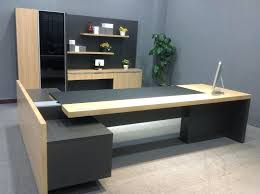 wooden office tables. Solid Wooden Office Desk Modern Wood Manager Boss Luxury Executive Table Tables