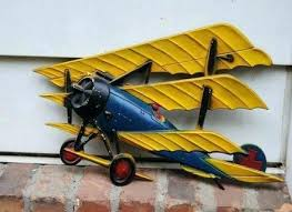 metal airplane wall decor metal airplane wall art vintage model ton decor made in aircraft plane