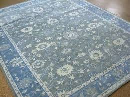 pottery barn rug fascinating blue rugs smoke