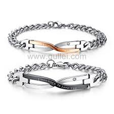 gullei custom engraved love bracelets gift set for couples personalized couples gifts matching necklaces and bracelets custom wedding rings