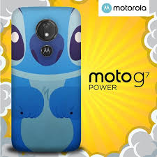 Blue Stich Cartoon E1120 Motorola Moto ...