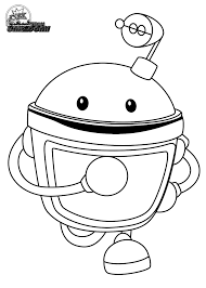 Small Picture Free Team Umizoomi Coloring Pages Printable Marty Line Art