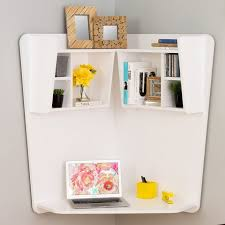latitude run gwen corner floating desk 182 when you ve got no place to put a desk in your pad the answer might be right in front of you