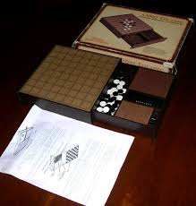 Wooden Othello Board Game Checkers bridge backgammon and Othello computers 72