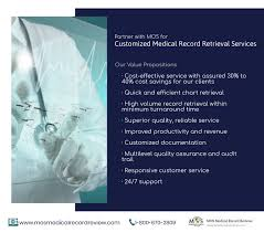 Chart Retrieval Companies Customized Medical Record Retrieval Services By