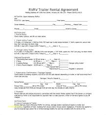 Trailer Rental Contract Template – Tangledbeard