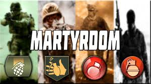 MARTYRDOM IN CALL OF DUTY! - YouTube