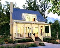 one story country house plans with front porch french 1 2 home low wrap architectures