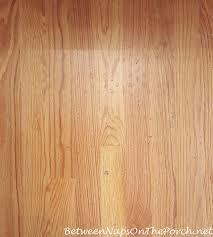 damaged hardwood flooring from latex or rubber backing on rug you can