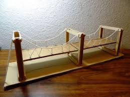 you can make this diy simple bridge to decorate your fairy garden this model bridge can also be used as the reference if you have to make some school