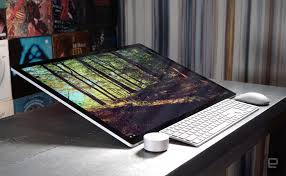 Micrsoft Table Microsofts Surface Studio Proves Desktops Can Still Be Cool