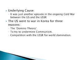 Cause And Effect Of Korean War