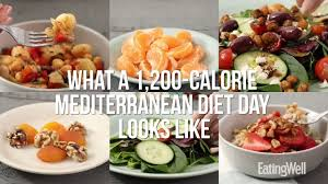 Meditation Diet Chart Mediterranean Meal Plan 1 200 Calories Eatingwell