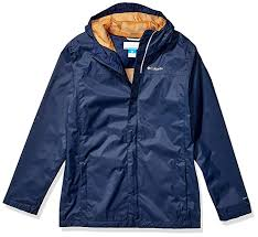 Columbia Youth Small Size Chart Columbia Youth Boys Watertight Jacket Waterproof Breathable