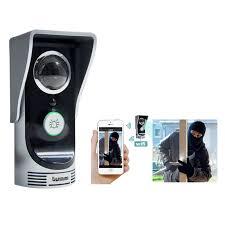 Wireless WiFi Remote Video Camera Door Phone Intercom Doorbell Home Security