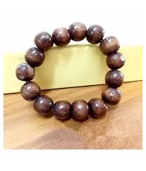 1pc brown wooden beads bracelet fashion jewellery 1pc brown wooden beads bracelet fashion jewellery in india on snapdeal