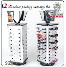 portable eyeglass display cases china case shelf glasses showing stand