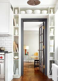 Shelves Around Window The Benefits Of Open Shelving In The Kitchen Hgtvs Decorating