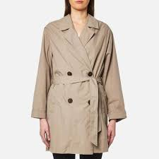 selected femme women s laureen trench jacket roasted cashew image 1