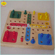 Making Wooden Games Wooden Ludo Board Game Set Fun Indoor Board Games 100 Buy 56