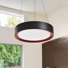 Office pendant light Led Drum Shaped Led Hanging Pendant Light Contemporary Style Office Suspension Lamp 16195in Wide Tacontactforcertrinfo Drum Shaped Led Hanging Pendant Light Contemporary Style Office