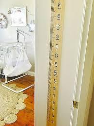 Ruler Height Chart Sticker Growth Chart Vinyl Decal Kit Diy