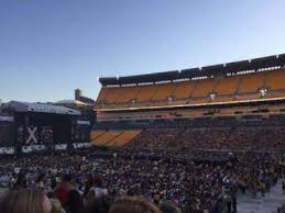 Wolf Trap Seating Chart Heinz Field Concert Seating Chart Best Seat 2018