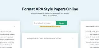 apa fprmat automatic apa format guides tools