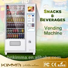 Combo Vending Machines For Sale Impressive Slender Snack Can And Bottle Vending Machine Kvmg48m48 Buy